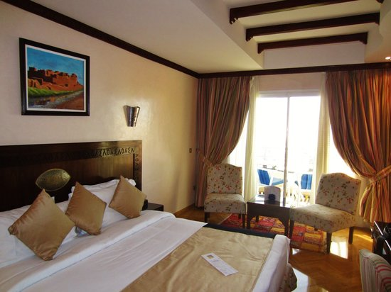 Club Val d'Anfa Hotel: our room at the Club Val D'Anfa in Casablanca