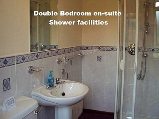 Serendipity Bed and Breakfast: Back Double en-suite shower facilities