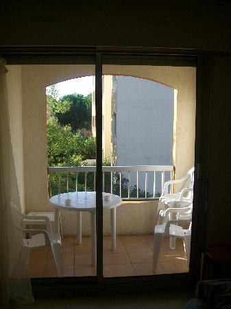 Vacantel Le Lagon Bleu : le balcon , l'endroit que je preferer