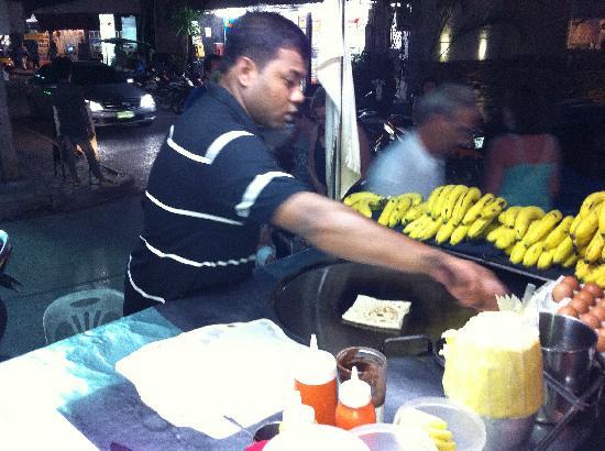 Thai House Beach Resort: banana loty in Lamai