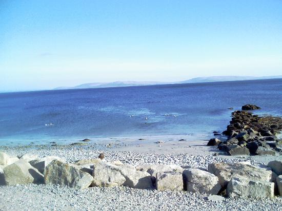 the seaview along Galway coast, near Amber Bay