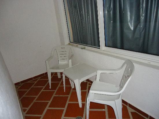 Isla Caribe Beach Hotel : Balcón