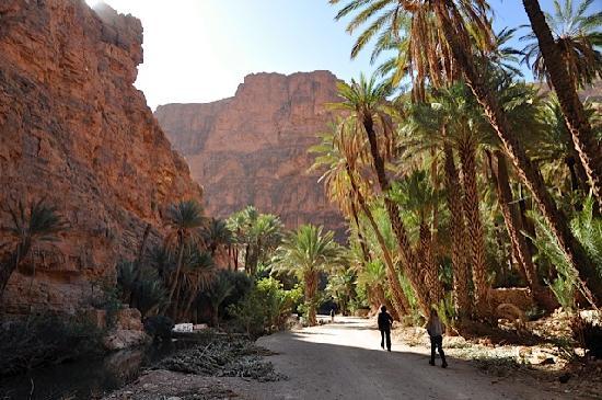 Tafraoute, Maroc : The gorge walk
