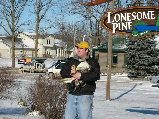 Lonesome Pine Restaurant and Bar : Josh releasing rehab.