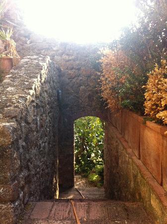 Il Castello del Poggiarello di Stigliano: SCORCIO