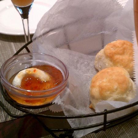 Acadiana: Warm, homemade biscuits.