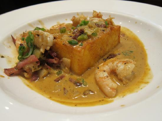 Acadiana: Shrimp and grits.