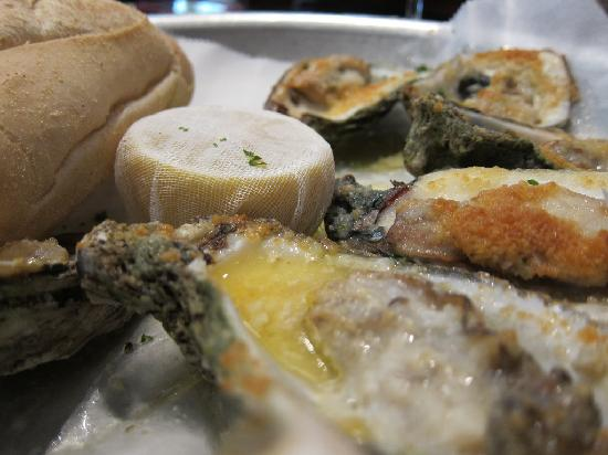 Acadiana: Charbroiled oysters.