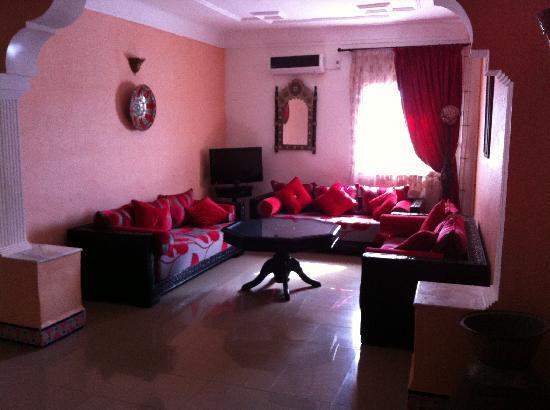 Hotel Residence Pomaria: salon