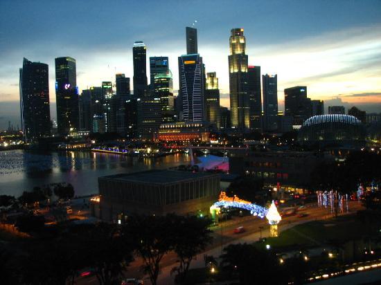Mandarin Oriental, Singapore: Marina Bay View