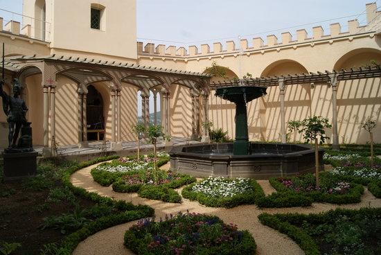 Schloss Stolzenfels: Garten