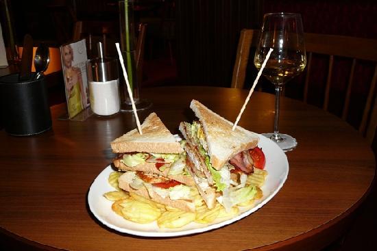 Cafe Wernbacher: Club sandwich