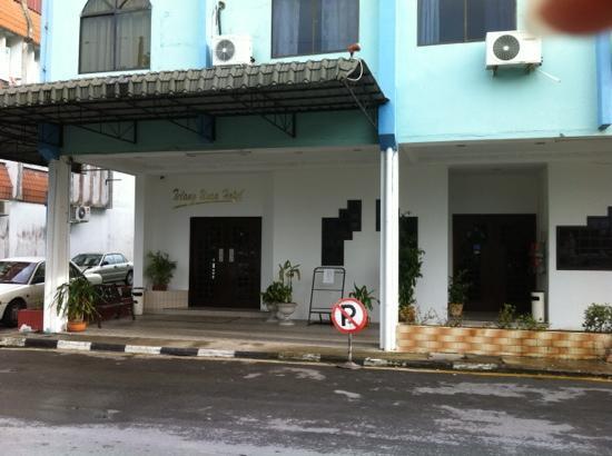 Telang Usan Hotel: hotel main entrance