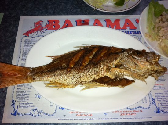 Bahamas fish market miami menu prices restaurant for Fish market miami