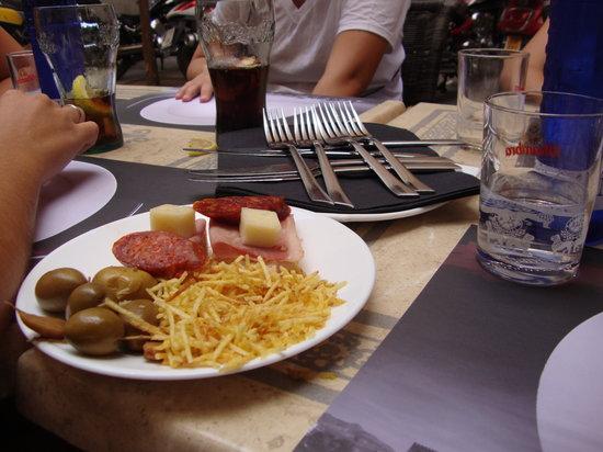 La Chicota: appetizers