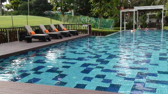 Ground Floor Swimming Pool Picture Of Village Hotel Changi By Far East Hospitality Singapore