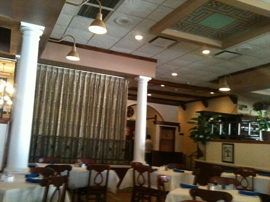 Athena Greek Restaurant : dining room