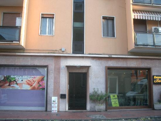 B&B Romantica Venezia : The entrance.