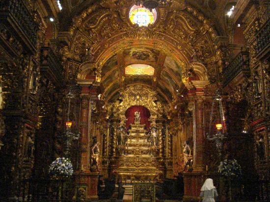 Sao Bento Monastery: Altar mayor - Monasterio de San Benito