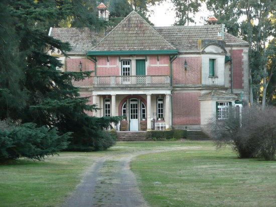 Province of Buenos Aires, Argentina: Front face of Estancia La Isolina