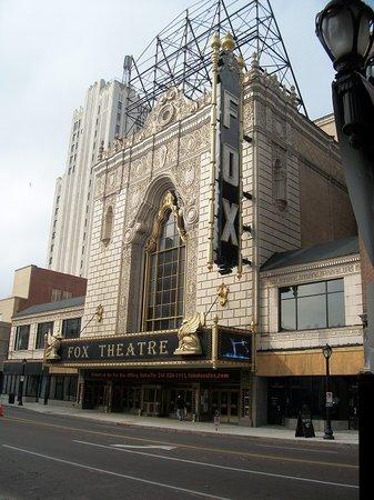The Fox Theatre: exterior