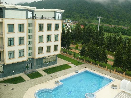 Balakan, Azerbaiyán: Qubek Hotel