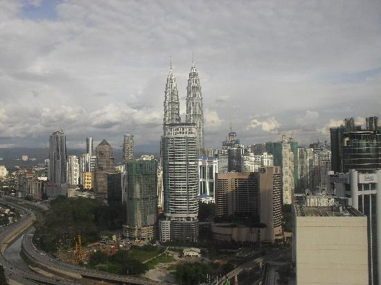 Sheraton Imperial Kuala Lumpur Hotel: View from our club room