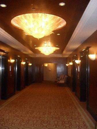 Sheraton Imperial Kuala Lumpur Hotel: Club floor elavator lobby