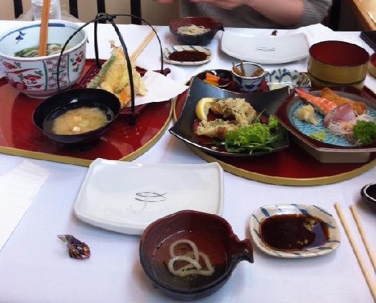 Sansui japanese cuisine auckland omd men om for Auckland cuisine
