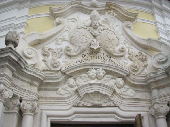 St. Michael: tympanum