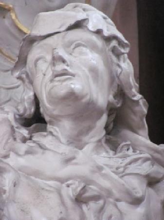 St. Michael: statue