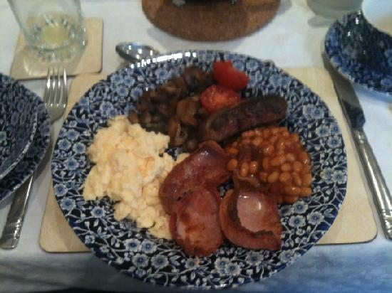 Leverton House: Wendy's Full English Breakfast, Delicious!!!