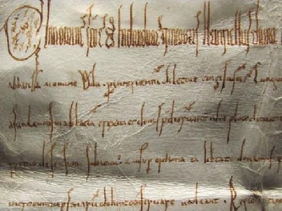 Stadtmuseum: manuscript detail