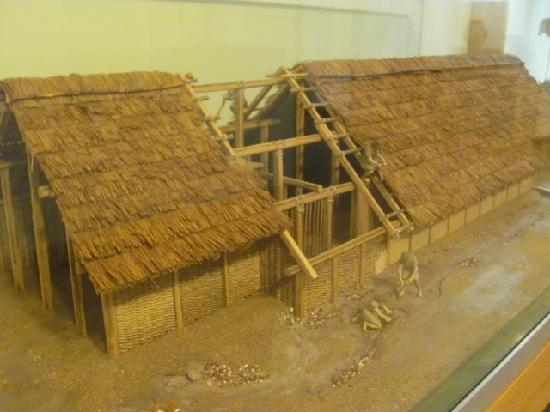 Stadtmuseum : model of a settlement