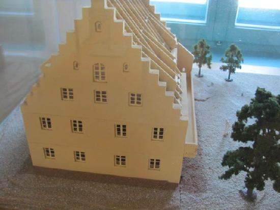 Schiffmeisterhaus: scale model of the Schiffmeistershaus