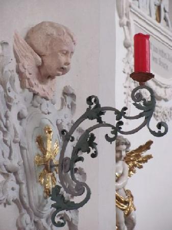 St Jakob: candleholder