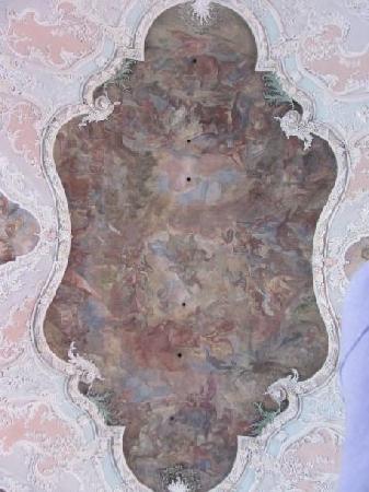 St Jakob: ceiling fresco