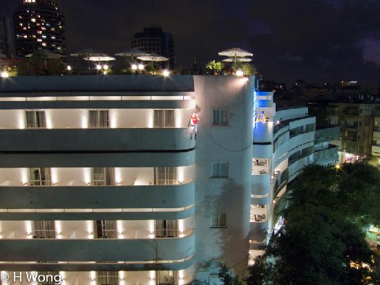 Center Chic Hotel Tel Aviv - an Atlas Boutique Hotel: Seen from the rooftop of Hotel Cinema