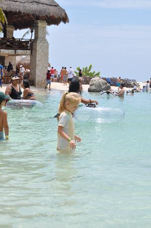 Xcaret Eco Theme Park: Swimming area