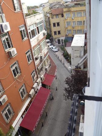 Arife Sultan Hotel: Stanza 402 veduta esterna