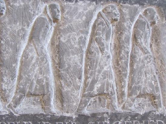 Oswaldkapelle: detail war memorial
