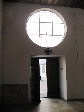 Oswaldkapelle: view towards the entrance