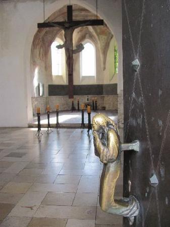 Oswaldkapelle: doorknob