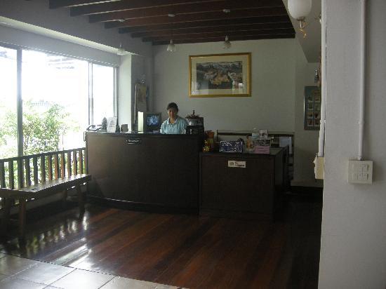 Nandha Hotel: Reception Area