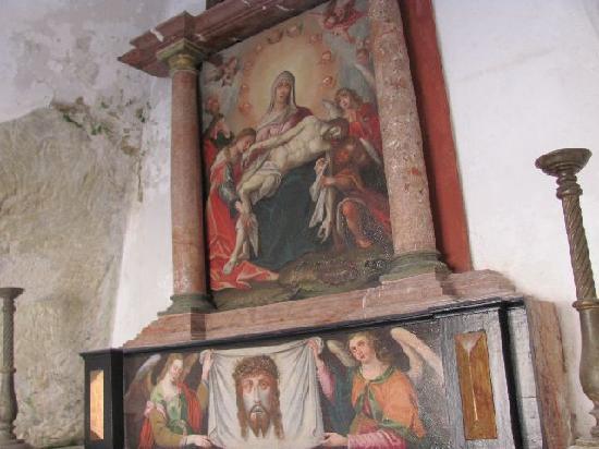 Heiliggrab-Kapelle: altar