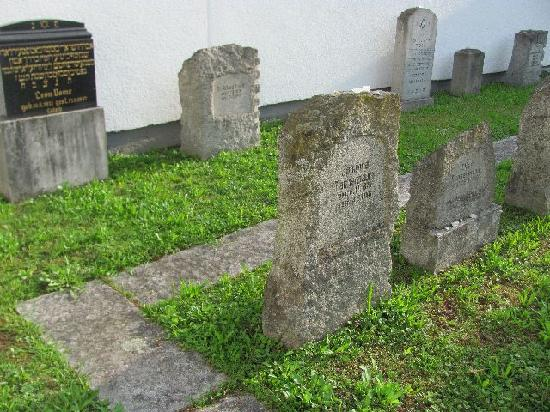 Friedhofe: old jewish areal