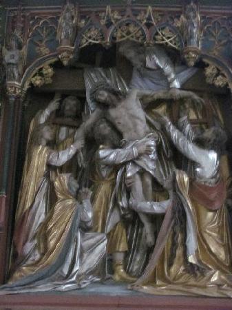 Geiersbergkirche: altar detail