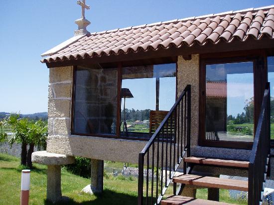 Hotel Quinta de San Amaro: HORREO ACRISTALADO