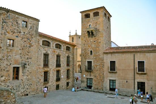 Old Town of Cáceres: Plaza de Santa María