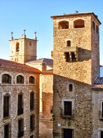 Old Town of Cáceres : Plaza de San Jorge